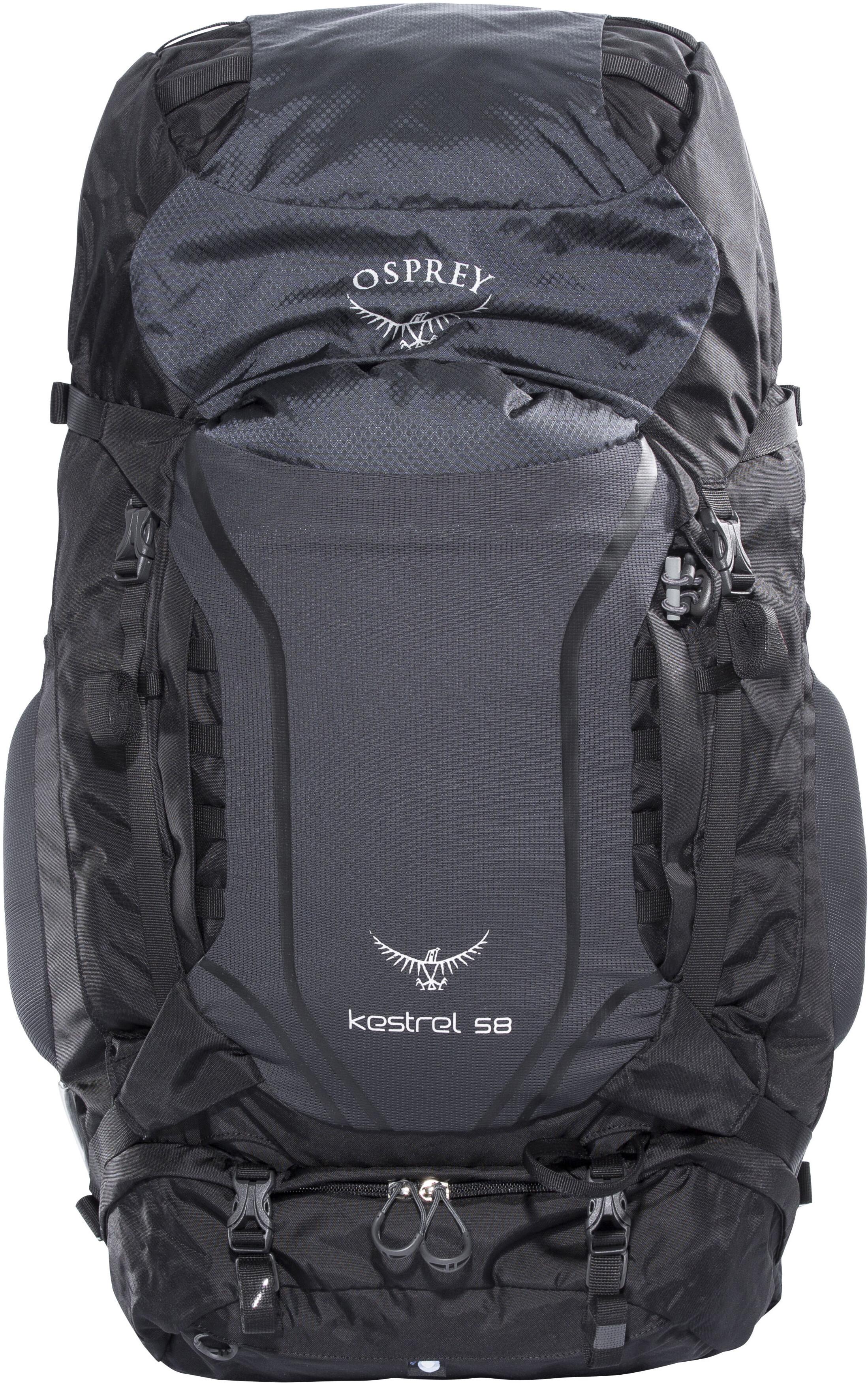 bf9dcb5ad4b Osprey Kestrel 58 Backpack Men Ash Grey | campz.de